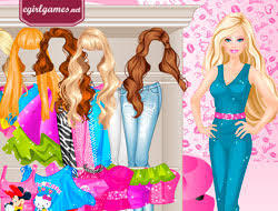 game barbie style play free