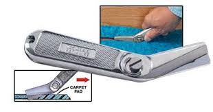 carpet with attached pad. 735 carpet pad knife with attached n