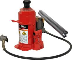 Norco 76720A 20 Ton Low Height Air/Hydraulic Bottle Jack 76720B | Mile - X