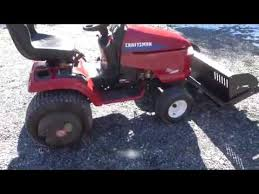 picking up a craftsman dgt6000 with a