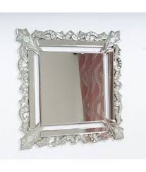 quality glass mirror venetian decorative wall mirror silver pack of 1