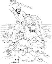 Fight Of Vikings Coloring Pagegif 10711316 Vikings Free