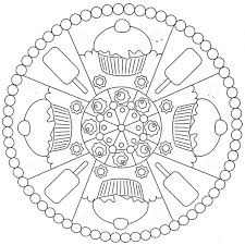 Small Picture mandala coloring pages for kids pdf Archives coloring page