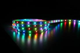 <b>5M</b> WS2801 RGB LED strip, IP67 <b>Waterproof</b>, <b>Individually</b> ...