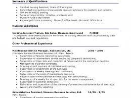 Staggering Cna Resume Samples 13 Nursing Assistant Resume Sample