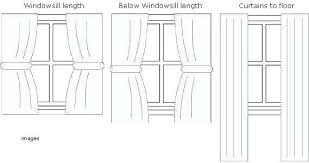 standard curtain lengths. Curtain Length Guide Standard Lengths Fabric Measuring From Specialists Curtains Bedroom Window U