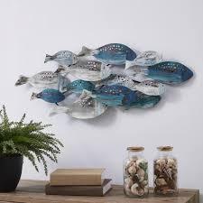 of fish metal wall art fhb6563