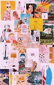 Aesthetic Collage Desktop Wallpaper ...