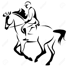 horse riding clipart black and white. Plain Riding Black And White Cartoons Horse Riding  Google Search In Horse Riding Clipart Black And White T