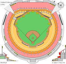 Oakland Coliseum Seating Chart Baseball Clems Baseball Oakland Coliseum