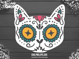 This gift card holder was one of my first designs and has been downloaded hundreds of times. Cat Sugar Skull Graphic By Babygnom Creative Fabrica