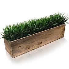 Image Sill Planter Cys Excel Rustic Planter Box 15 Sizes Available Wood Planter Decorative Box Amazoncom Indoor Planter Boxes Amazoncom
