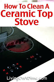 best stove cleaner outstanding how to clean a ceramic top step intended for glass the canadian tire st