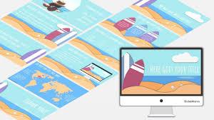 Summer Free Presentation Template For Google Slides Or
