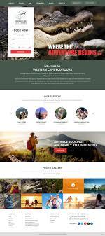 Tour Company Website Design Colorful Upmarket Tourism Web Design For A Company By Pb