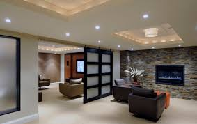 lighting ideas for basement. Image Of: Modern Basement Remodeling Lighting Ideas For