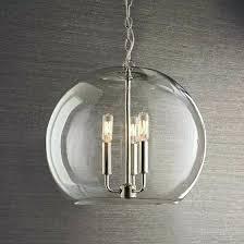 glass globe chandeliers modern pyramid chandelier