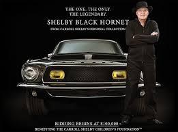 Shelby Black Hornet | 2dayBlog