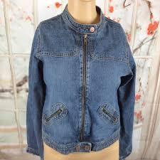 Vintage Old Navy Denim Jacket Size 14 Youth
