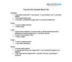 Thyroid Disease Diet Chart Thyroid Diet Lovetoknow