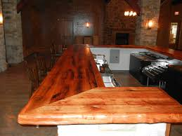Wood Bar Top Mesquite Wood Countertops Bar Tops In Texas Faifer Company Inc