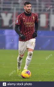 Milan, Italy. 15th Dec, 2019. Mateo Musacchio of AC Milan during the Serie  A match between AC Milan and Sassuolo at Stadio San Siro, Milan, Italy on  15 December 2019. Photo by