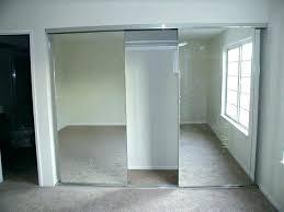 frameless mirror closet doors frameless beveled bifold