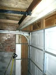 low clearance garage door zero clearance garage door opener low clearance garage door hinges torsion spring