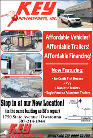 affordable vehicles trailers affordable financing key powersports inc owatonna mn