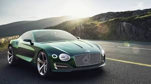 bentley sport car 2 seater