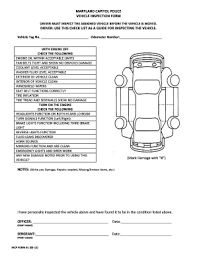 inspection sheet vehicle inspection sheet fill online printable fillable blank