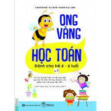 Combo Sách - Ong Vàng Học Toán Dành Cho Trẻ 4-6 tuổi - Học Kèm App Online