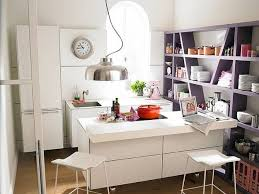 White Kitchen Cabinets And Island Design, Small Kitchen Decor Ideas