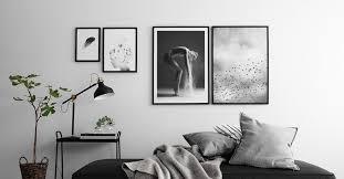 posters black white