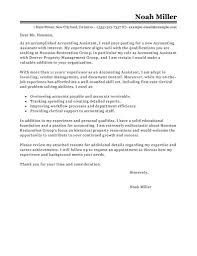 Entry Level Accounts Assistant Cover Letter Sample Job And