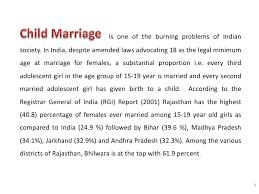 presentation on early marriage methodology 5