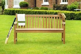 windsor teak garden bench 3 seater 1 5m