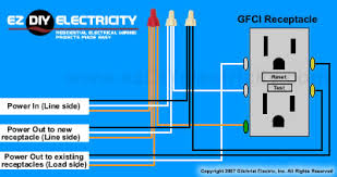 multiple gfci outlet wiring diagram wiring diagram schematics 4 way switch ez diy electricity