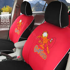 name fortune garfield autos car seat covers for 2008 toyota rav4 red