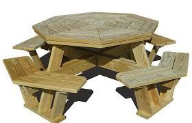 modern outdoor ideas medium size round picnic table plans exciting rustic tables garden hexagon