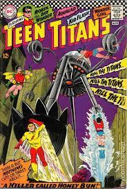 8 labels comics teen titans