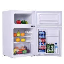 small fridge freezer combo. Delighful Fridge Compact 2 Door Fridge Freezer Combo By Costway Inside Small T