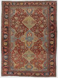 this rug is representative of a typical fereghan sarouk design