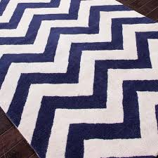 navy and white zigzag rug designs with regard to blue idea 9
