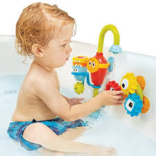what s awesome about this bath toy is all of the experimentation the pieces allow for toddlers can explore cause and effect with the gears cups and pour