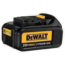 Dewalt Battery Comparison Chart 20v Max Lithium Ion Battery Pack 3 0 Ah