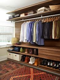boutique ideas for decorating closet contemporary with open clothes rack wood floors walk in closet