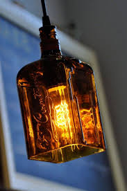 201 Best Creative Pipe Lighting Images On Pinterest | Industrial throughout  Liquor Bottle Pendant Lights (
