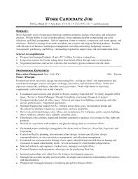 Interior Designer Resume Objective Free Resume Example And