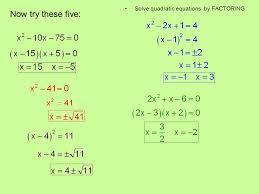 factoring quadratic equation calculator jennarocca